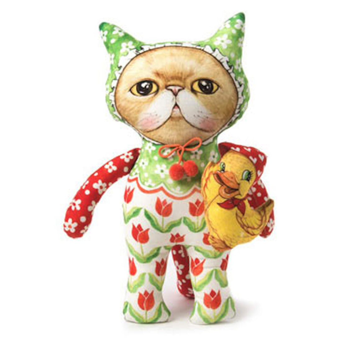 Cat doll 'DUCKLING' (Size :32cm)