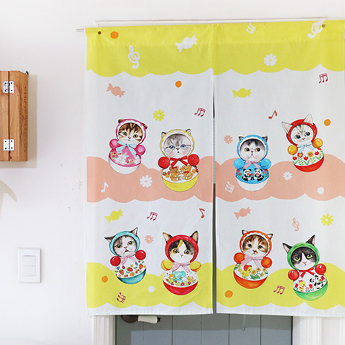 Mini curtain - ROLY POLY (84✕98cm)