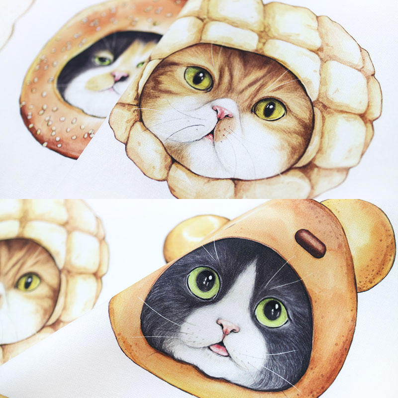 FABRIC - Bread cat