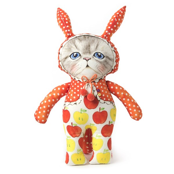 Cat doll 'Bunny Cat' (Size :32cm)