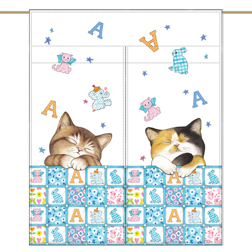 Mini curtain - Good night (84✕98cm)