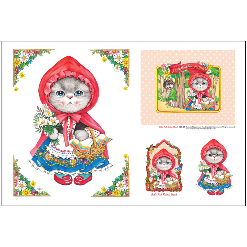 FABRIC - Little Red Riding Hood RUMI