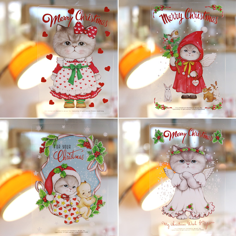 Transparent Post Card - 【RUMI's Xmas】