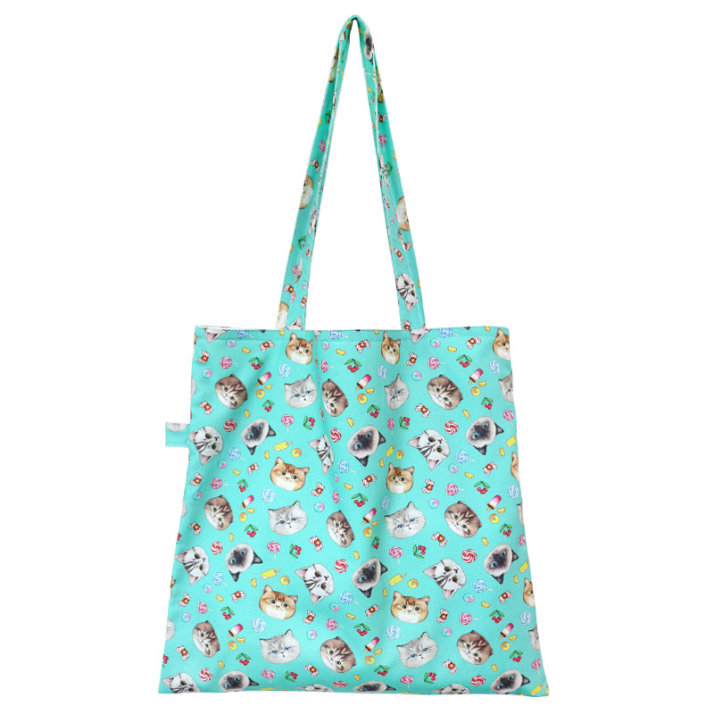 □ Totebag - Sweets mint