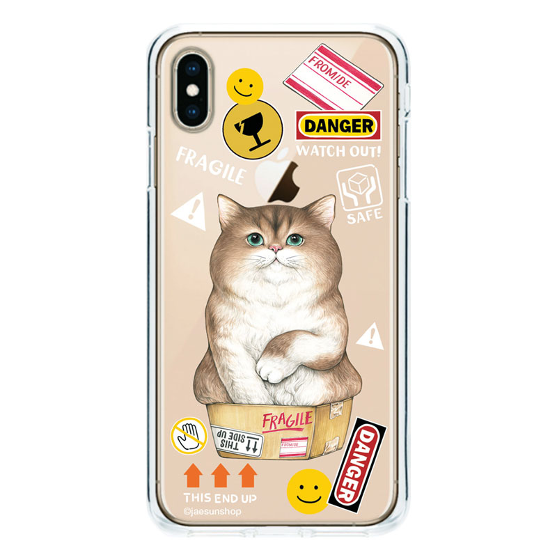 Smartphone Case - A cat in the box