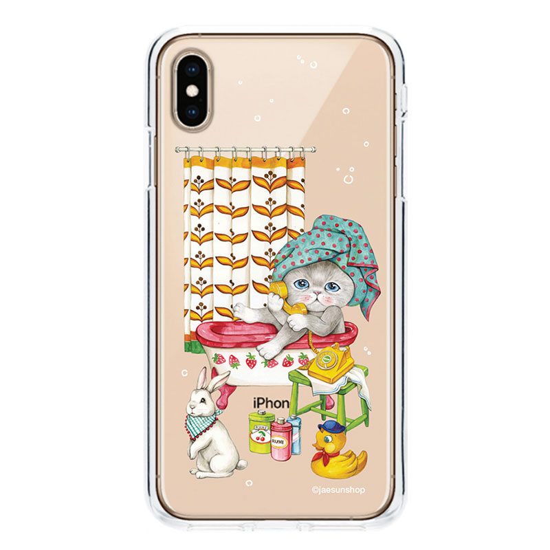 Smartphone Case - Rumi likes the bath