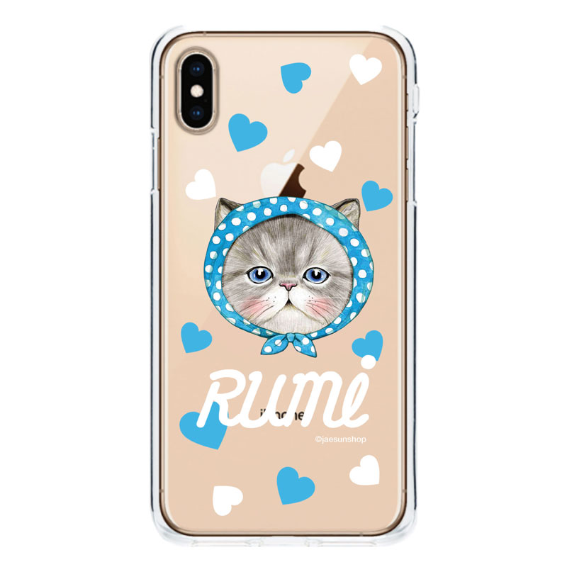 Smartphone Case - Rumi's heart (Blue)