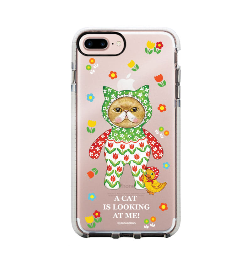 Smartphone Case - A cat is looking at me