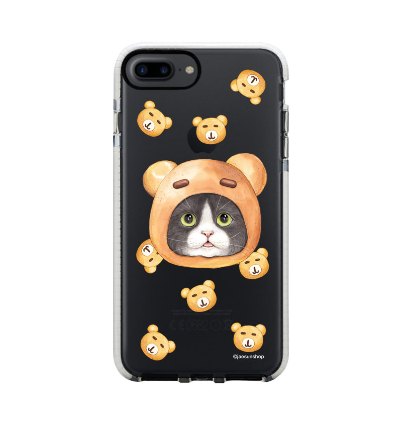 Smartphone Case - Bear bread Cat