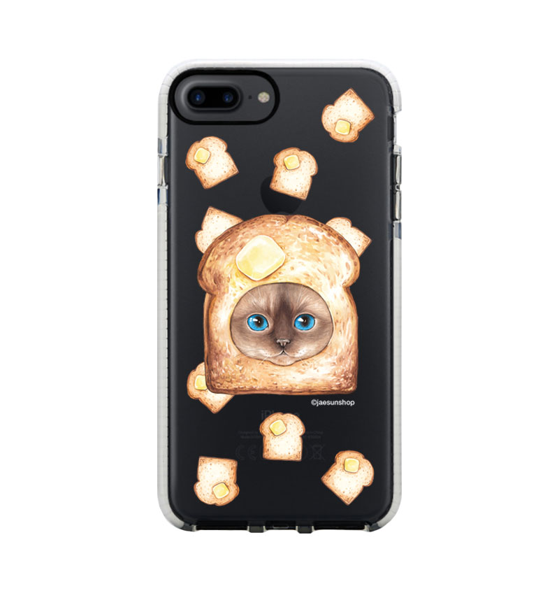 Smartphone Case - Burned bread Cat